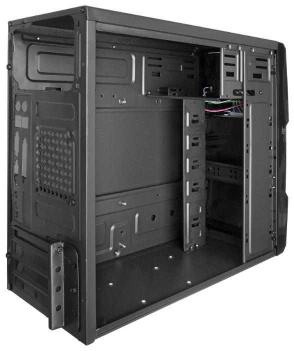 Корпус Exegate QA-401 500W, черный EX256036RUS