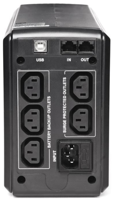 Источник бесперебойного питания Powercom Smart King Pro+ SPT-700 (700 ВА/490 Вт), черный