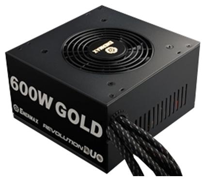 Блок питания Enermax Revolution Duo 600W (ATX, 80 Plus Gold) ERD600AWL-F