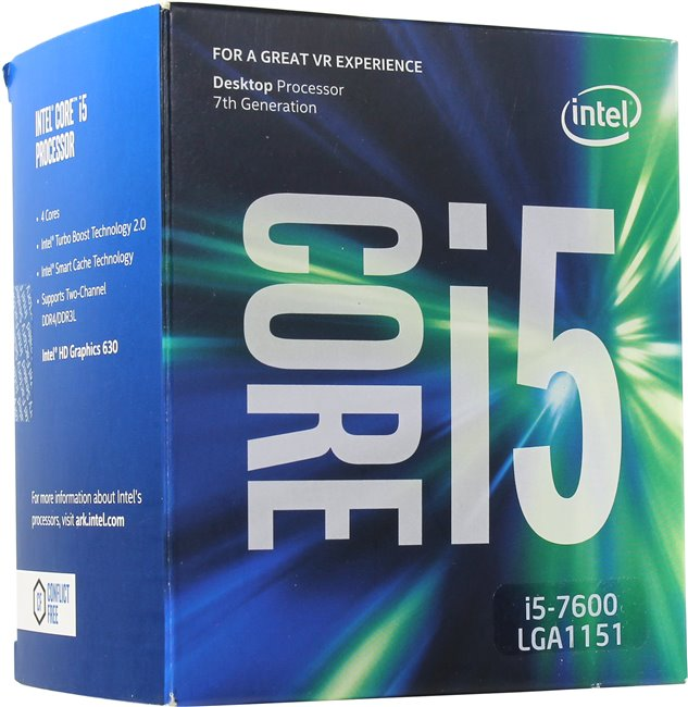 Процессор Intel Core i5-7600 BOX (BX80677I57600SR334)
