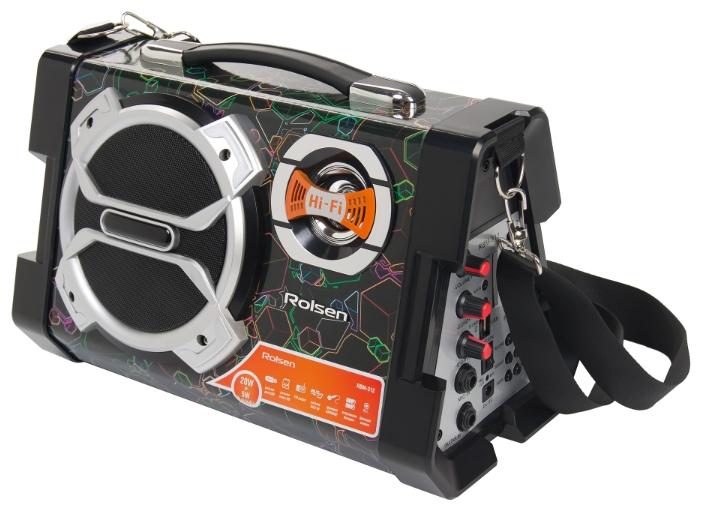 Портативная акустика Rolsen RBM312-Cube