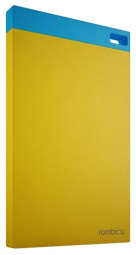 Аксессуар для телефона Rombica Внешний аккумулятор Neo NP60 6000 mAh, желтый NP60 Yellow