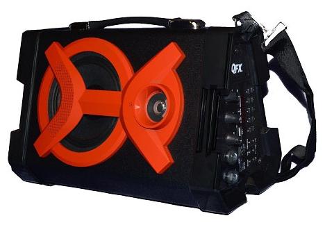 Портативная акустика KS-IS KS-313, черная/ красная KS-313RED