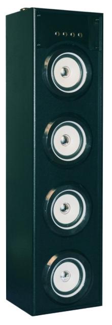 Портативная акустика KS-IS KS-308 чёрная