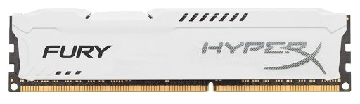 Модуль памяти Kingston HX318C10FW/8 (1 x 8 Гб, DDR3 1866 МГц, DIMM, CL10), белый