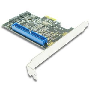 Контроллер Speed-Dragon Speed Dragon PCI-E (2-Port SATA-3 6Gbs + 1-port IDE), EST04A-1