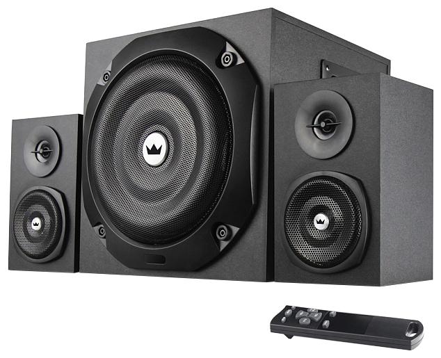 Компьютерная акустика Crown CMS-3801, черная CM000001501