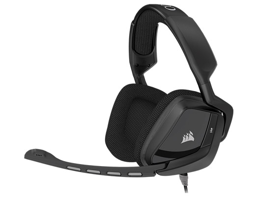 Corsair Gaming VOID Surround Hybrid Stereo (Dolby 7.1, USB адаптер), черная