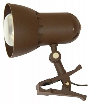 Светильник настольный Transvit Nadezhda1mini BR, коричневый NADEZHDA1MINI/BR