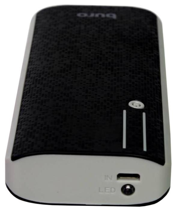 Аксессуар для телефона BURO Мобильный аккумулятор RC-10000 (10000 mAh), черный/серый