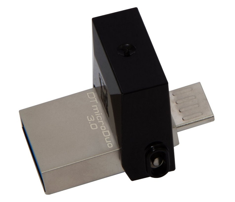 Usb-флешка Kingston 64Gb OTG, USB/microUSB, USB 3.0 (DTDUO3/64GB)