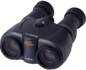Бинокль Canon 8x25 IS, черный 7562A019