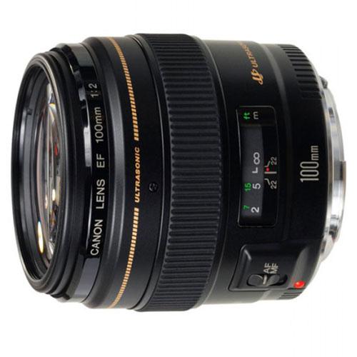 Объектив для фото Canon EF 100mm f/2.0 USM (2518A012)