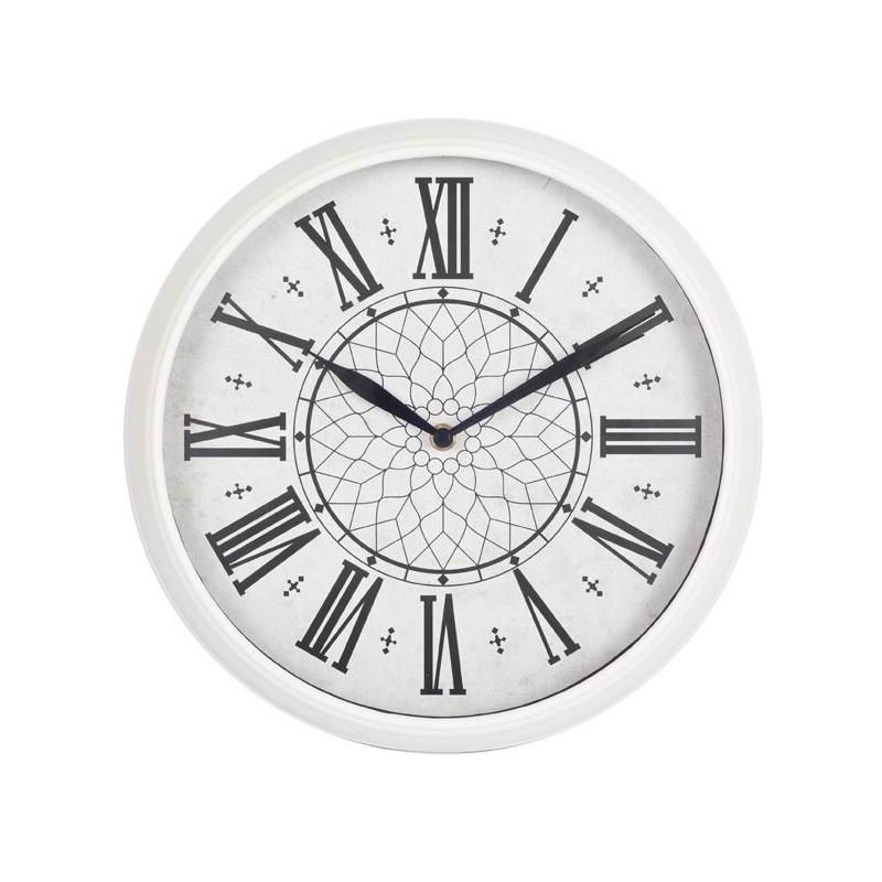 Часы интерьерные Byurokrat WallC-R26P, белые WALLC-R26P/WHITE