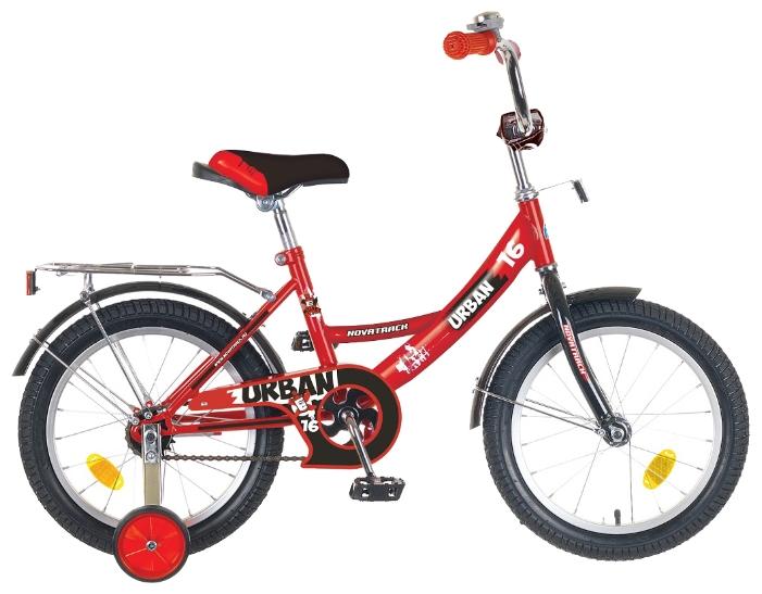 Велосипед Novatrack Urban 16 (2016), красный