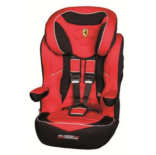 Автокресло Nania I Max SP Luxe Ferrari Corsa (1-2-3)