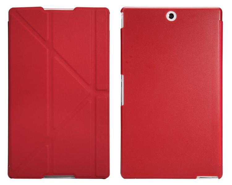 Чехол для планшета IT-BAGGAGE IT Baggage для Sony Xperia Tablet Z3 8'', иск.кожа, пластик, красный ITSYZ301-3