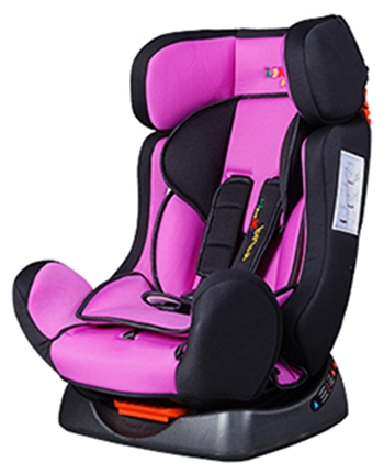 Автокресло Liko-Baby LB 719, фиолетово-чёрное