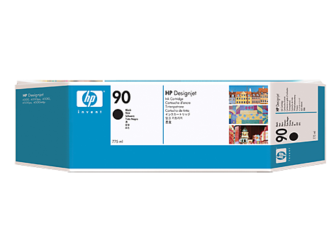 HP 90 C5095A (тройная упаковка), чёрный