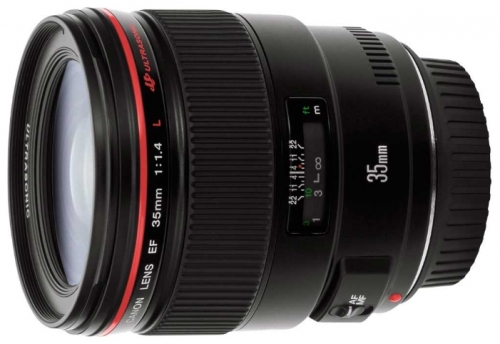 Объектив для фото Canon EF 35mm f/1.4L USM 2512A011