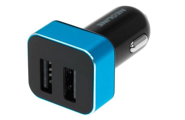 Зарядное устройство Neoline Volter D2 (автомобильное) сине-черное