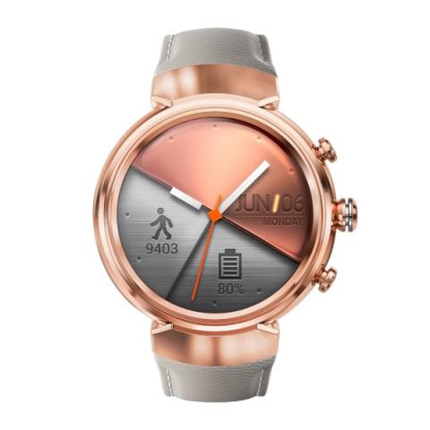 Умные часы ASUS ZenWatch 3 WI503Q, золотисто-бежевые