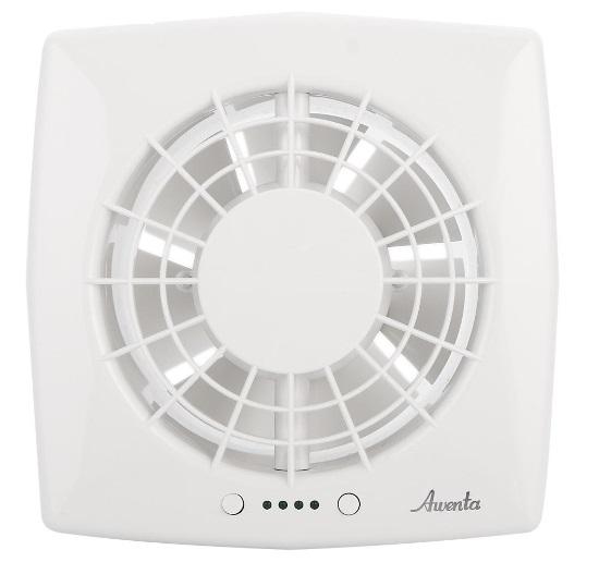 Вентилятор Awenta WGB 125 CTR, белый