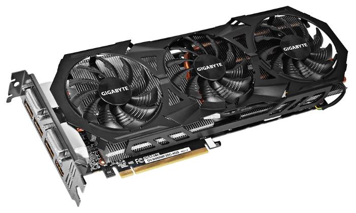 Видеокарта GeForce GigaByte GeForce GTX 980 1178Mhz PCI-E 3.0 4096Mb 7000Mhz 256 bit 2xDVI HDMI HDCP GV-N980WF3OC-4GD