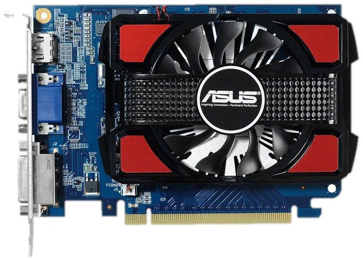 ���������� GeForce ASUS GeForce GT 730 700Mhz PCI-E 2.0 2048Mb 1600Mhz 128 bit DVI HDMI HDCP GT730-2GD3