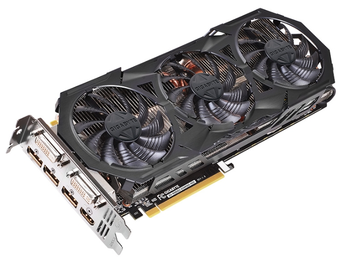���������� GeForce GigaByte GeForce GTX 980 1228Mhz PCI-E 3.0 4096Mb 7000Mhz 256 bit 2xDVI HDMI HDCP GV-N980G1 GAMING-4GD