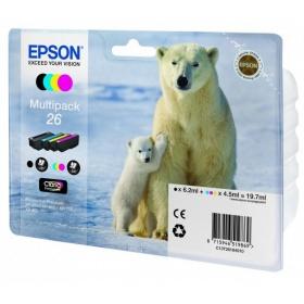 Картридж Epson 26, 4 цвета C13T26164010