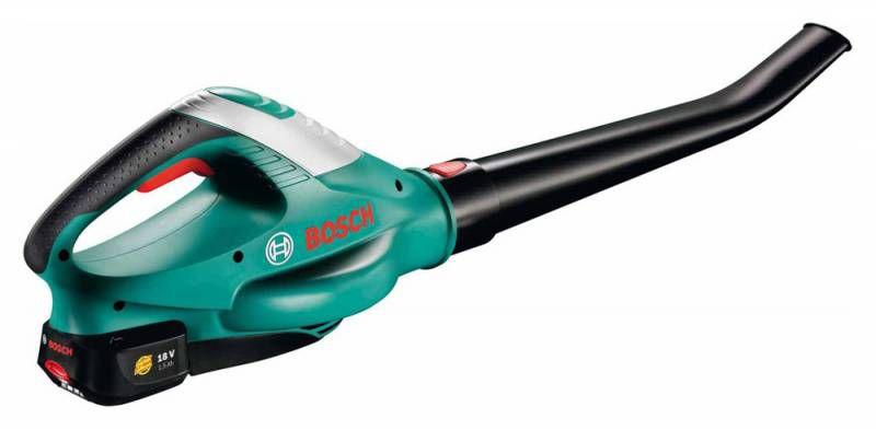 Воздуходувка Bosch ALB 18 LI (06008a0501) зелено-черная