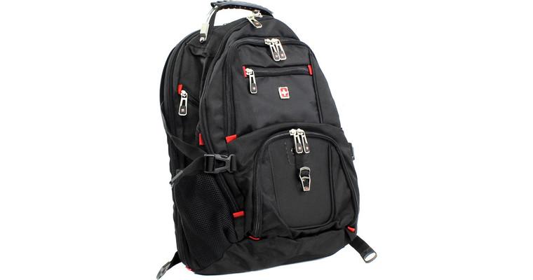 Сумка для ноутбука Continent BP-301 BK (рюкзак), черный BP-301BK