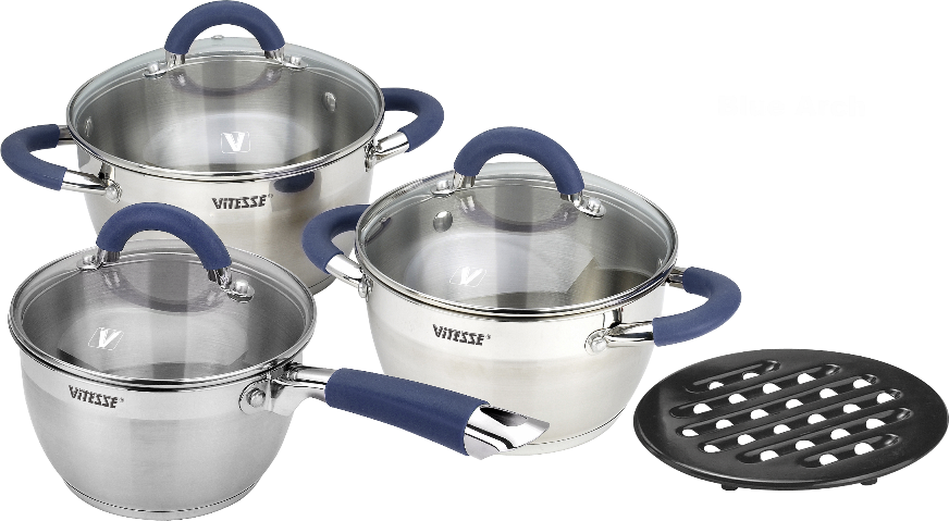 Набор посуды Vitesse VS-2046, 7 предметов