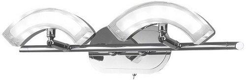Светильник настенный IDLamp Merrill 350/2A-Chrome