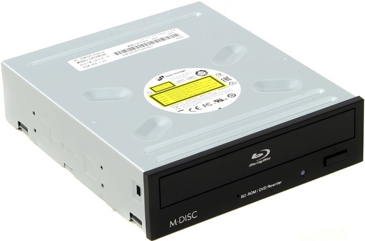 Оптический привод LG CH12NS30, черный