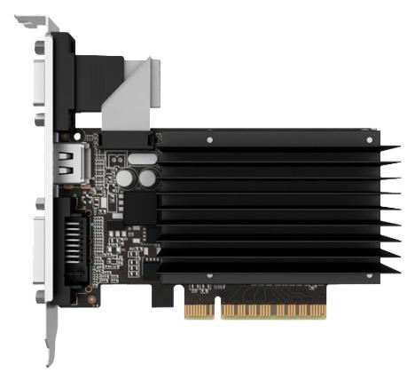 Видеокарта GeForce Palit GeForce GT 730 902Mhz PCI-E 2.0 2048Mb 1804Mhz 64 bit DVI HDMI HDCP Silent NEAT7300HD46-2080H