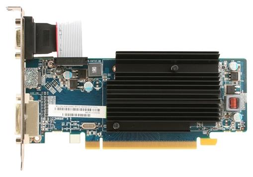 ���������� GeForce Sapphire Radeon R5 230 625Mhz PCI-E 2.1 2048Mb 1334Mhz 64 bit DVI HDMI HDCP 11233-02-20G
