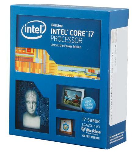 ��������� Intel Core i7-5930K Haswell-E (3500MHz, LGA2011-3, L3 15360Kb, Retail)