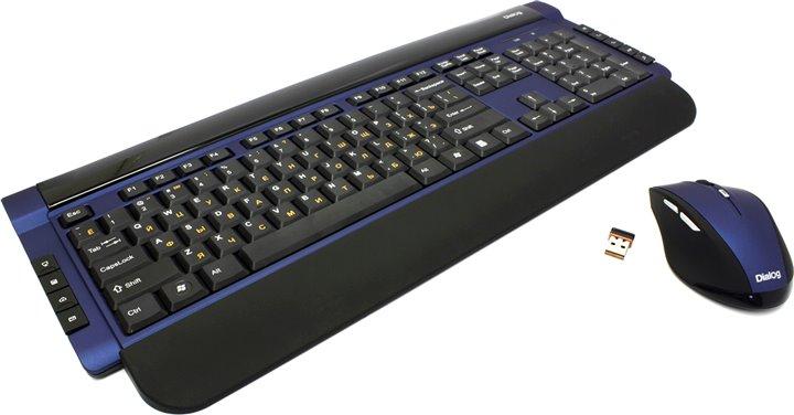 Комплект Dialog KMROK-0517U, синий