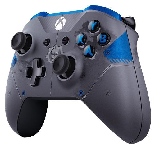 Геймпад MICROSOFT Xbox One Wireless Controller Gears of War 4 JD Fenix, серый WL3-00008