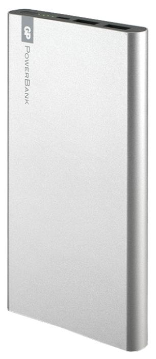 Аксессуар для телефона GP-(Gold-Peak) Внешний аккумулятор FP10M (10000 mAh), серебристый GPFP10MSE-2CRB1