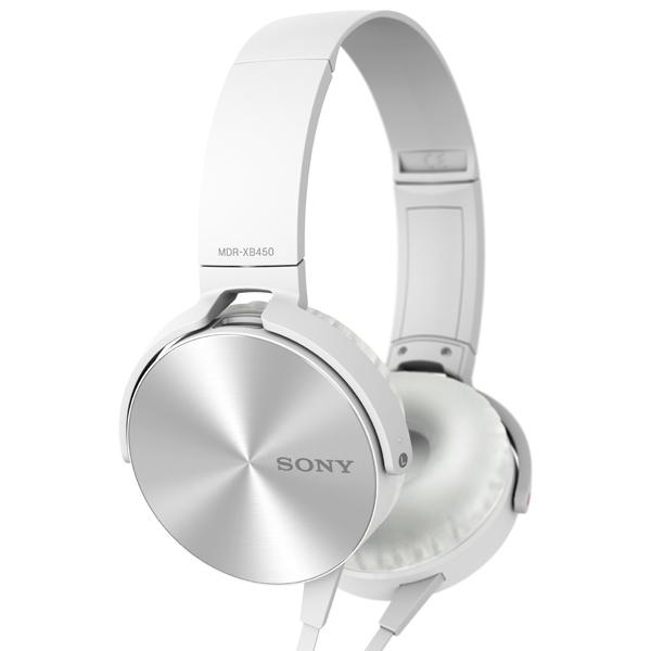 SONY MDR-XB450AP White