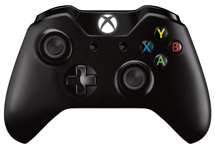 Геймпад MICROSOFT Xbox One, Черный 6CL-00002