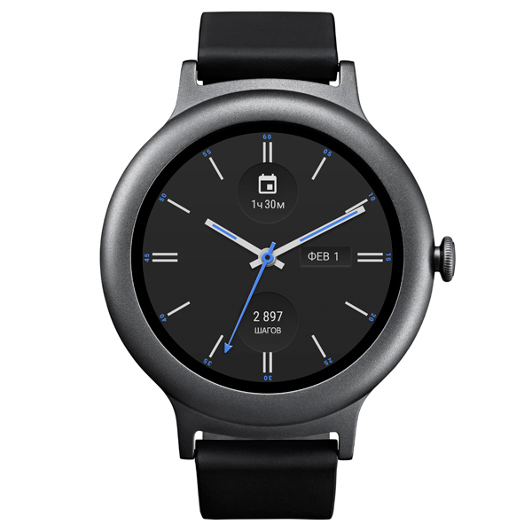 Умные часы Watch Style W270, тёмно-серые LGW270.ACISTN