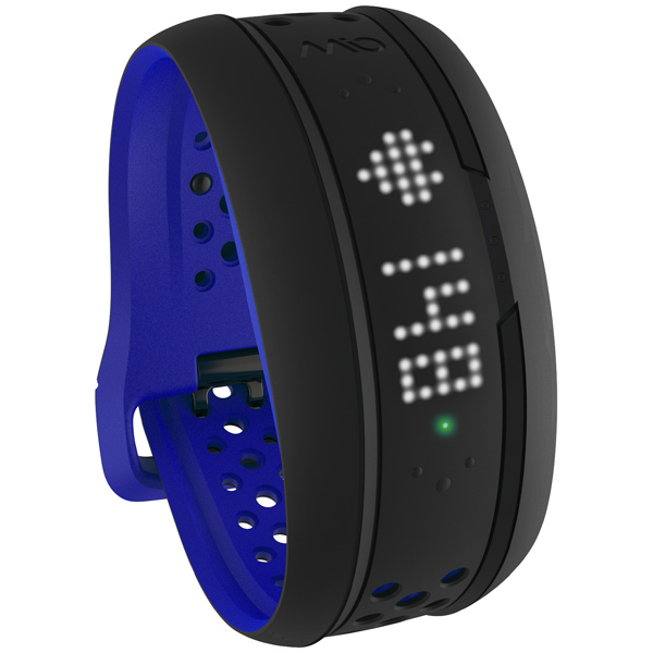 Фитнес-браслет Mio Fuse, Small-Medium (59P-REG-BLU), чёрно-синий