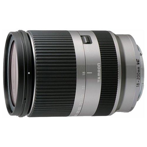 Объектив для фото Tamron AF 18-200mm f/3.5-6.3 Di III VC Canon EF-M, серебристый B011EM SILVER