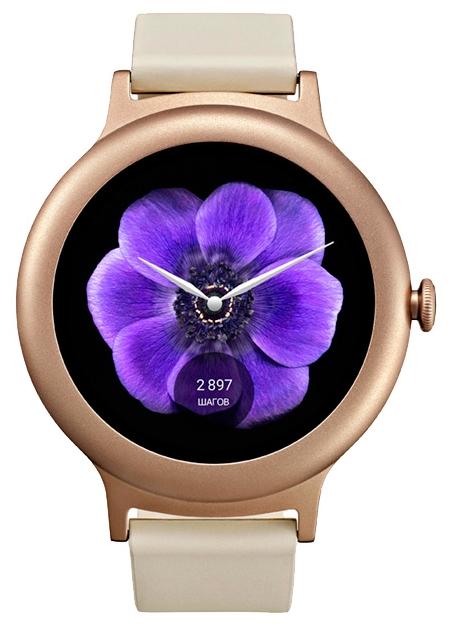 Умные часы Watch Style W270, золотисто-розовые LGW270.ACISPG