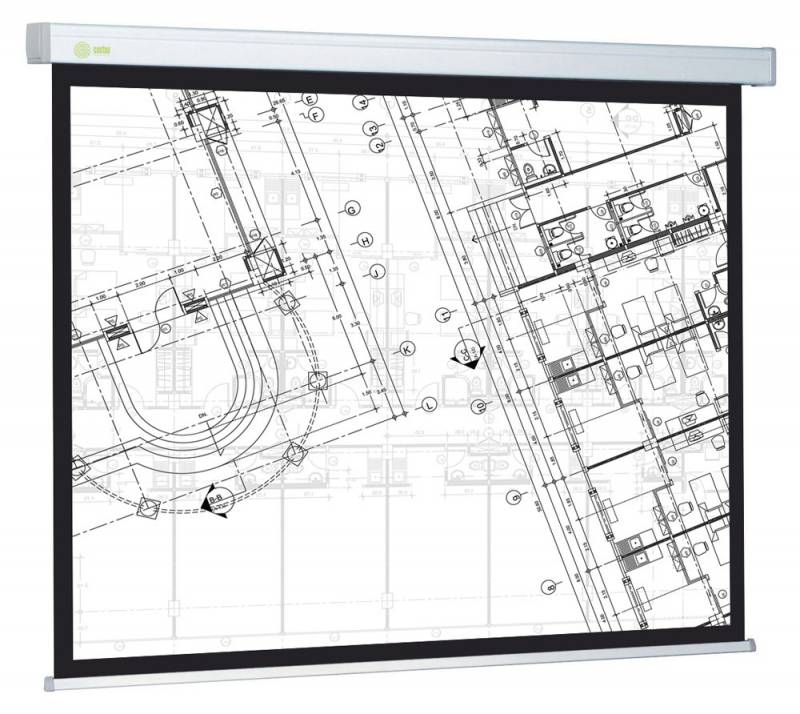 Экран CACTUS Wallscreen CS-PSW-124x221 (221x124.5 см)