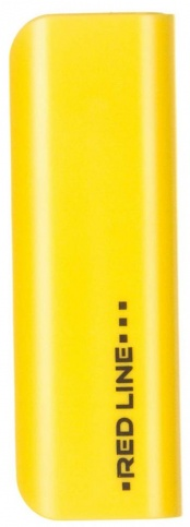 Аксессуар для телефона Red-Line Внешний аккумулятор R-3000 (3000 mAh), желтый R-3000 ЖЕЛТЫЙ
